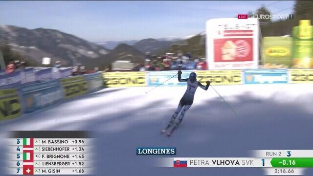 Petra Vlhova wygrała gigant PŚ w Jasnej