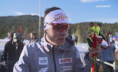 Szczepan Kupczak po czwartkowej rywalizacji w kombinacji norweskiej