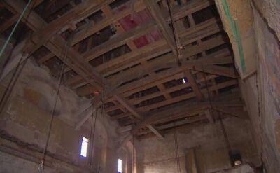 W dolnośląskim pałacu odkryto XVI-wieczne malowidła