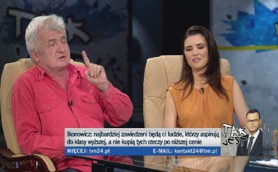 Małgorzata Leitner i Piotr Ikonowicz w Tak Jest