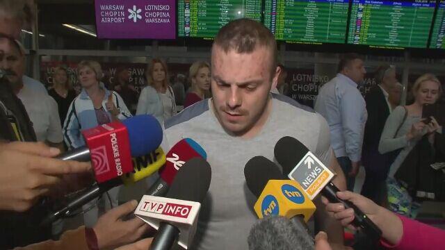 """Zieliński wrócił do Polski. """"Nikomu już nie wierzę"""""""