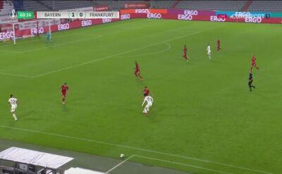 Puchar Niemiec. Bayern - Eintracht. Gol Danny da Costa (1:1)