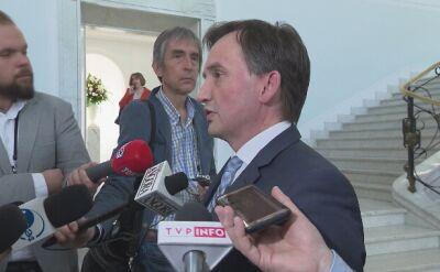 Ziobro: prokurator była gotowa przesłuchiwać Birgfellnera dzień po dniu
