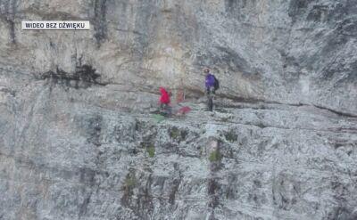Trzy dni spędzili na skale, odmawiali pomocy służb