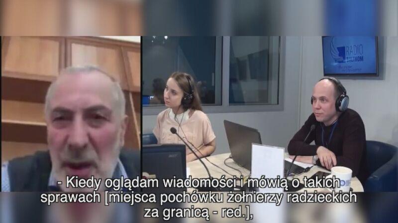 Witalij Kałojew o kontaktach rosyjsko-polskich