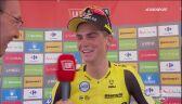 Rozmowa z Seppem Kussem po 15. etapie Vuelty