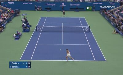 Skrót meczu Naomi Osaka - Belinda Bencic