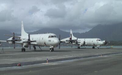 Samolot patrolowy P-3 Orion lotnictwa US Navy