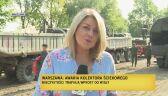 Wojsko przygotowuje się do budowy mostu pontonowego na Wiśle w Warszawie (nagranie z 31 sierpnia)