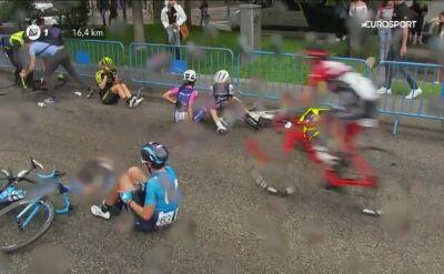 Duża kraksa w peletonie podczas Madryt Challenge, Polka poszkodowana