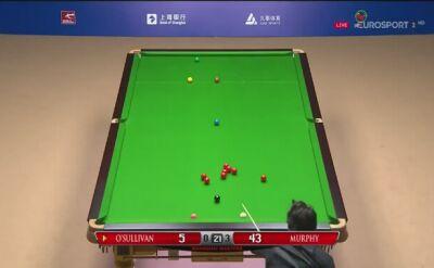Błyskotliwa gra O'Sullivana w finale z Shaunem Murphym