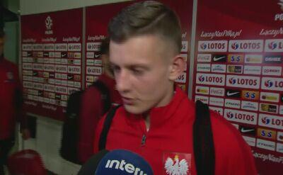 Sebastian Szymański zaliczył debiut w reprezentacji Polski