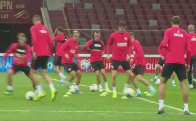 Glik i Polacy trenowali przed meczem z Austrią