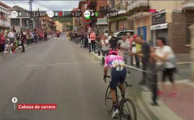 Higuita wygrał 18. etap Vuelty