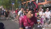 Michał Kwiatkowski po 10. etapie Tour de France