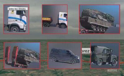 Trasa przejazdu ciężarówki, która wiozła system rakietowy użyty do zestrzelenia MH17