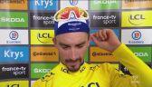 Julian Alaphilippe po 15. etapie Tour de France