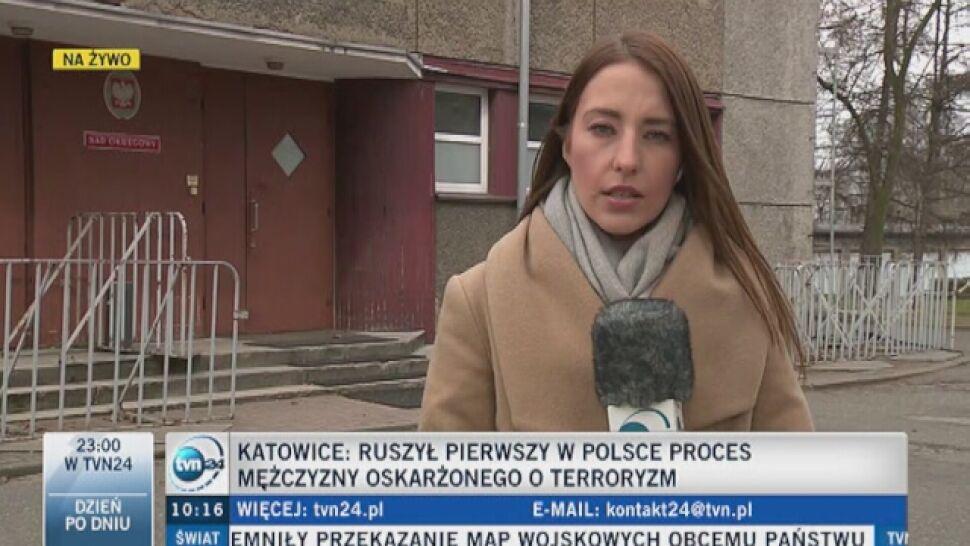 Marokańczyk oskarżony o udział w Państwie Islamskim stanął przed sądem w Katowicach