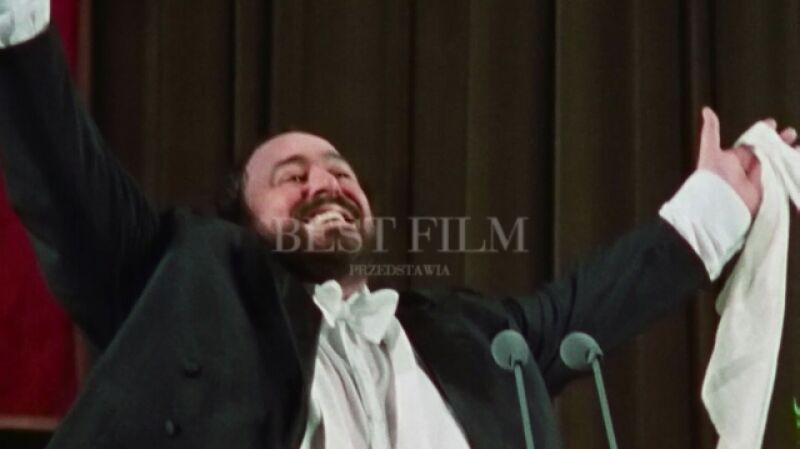 """Fragment filmu dokumentalnego """"Pavarotti"""""""