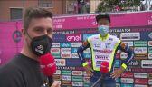 Taco van der Hoorn po zwycięstwie na 3. etapie Giro d'Italia