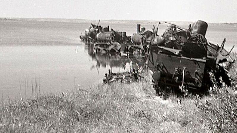 Parowozy na dnie Bałtyku