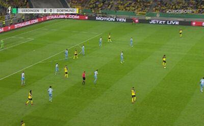 Skrót meczu KFC Uerdingen - Borussia Dortmund