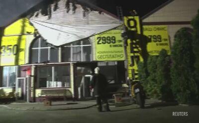 Co najmniej osiem osób zginęło w pożarze hotelu w Odessie