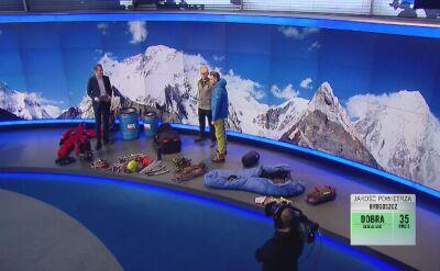 """Ekipa """"Faktów"""" TVN rusza na K2"""