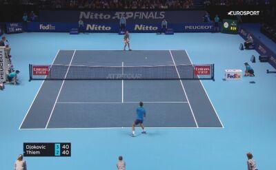 Skrót meczu Dominic Thiem - Novak Djokovic