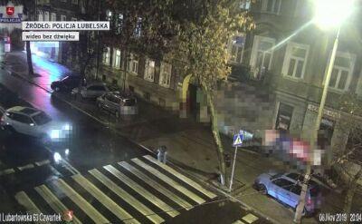 Taksówkarz potrącił pieszego na ulicy Lubartowskiej
