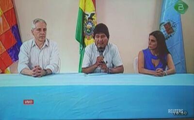 Prezydent Boliwii Evo Morales podał się do dymisji