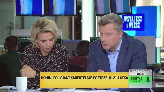 Mariusz Sokołowski o policyjnych procedurach ws. użycia broni