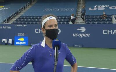 Wiktoria Azarenka po awansie do ćwierćfinału US Open