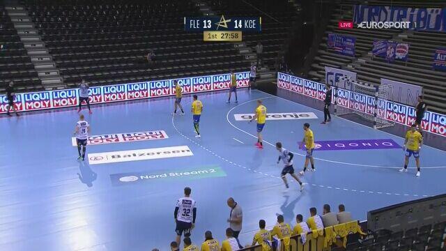 Znakomita obrona bramkarza Vive w meczu Ligi Mistrzów z Flensburgiem