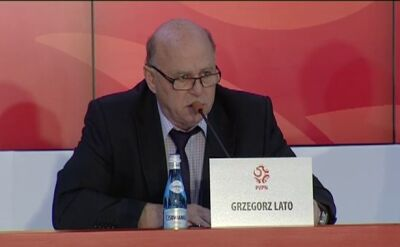 Konferencja prezesa. O Euro, trenerze i PZPN
