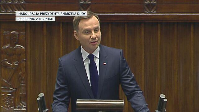 Andrzej Duda w sierpniu 2015 roku: proszę o wzajemny szacunek
