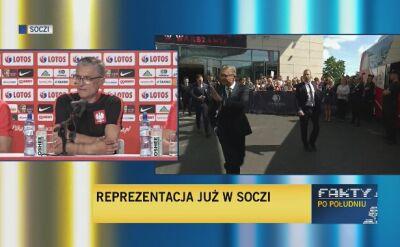 Raport medyczny trenera Nawałki