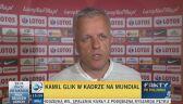 Lekarz kadry: Glik będzie gotowy na trzeci mecz