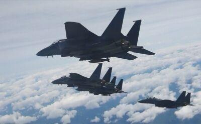 Południowokoreańskie myśliwce F-15K