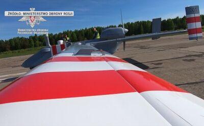Pierwszy lot drona Forpost