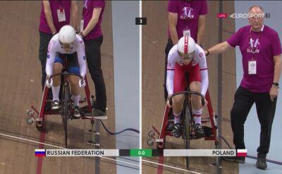 Polki słabsze od Rosjanek w drużynowym sprincie w PŚ w Glasgow