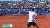 Adria Tour: skrót meczu Zverev - Petrovic