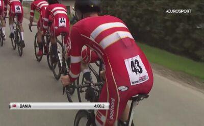 Duńczycy znaleźli się na podium czasówki Orlen Wyścigu Narodów