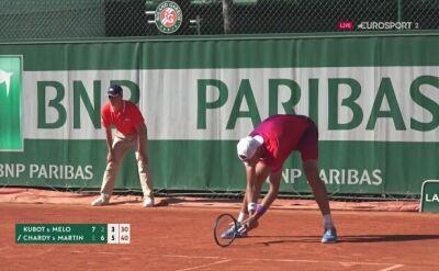Łukasz Kubot i Marcelo Melo pożegnali się z French Open