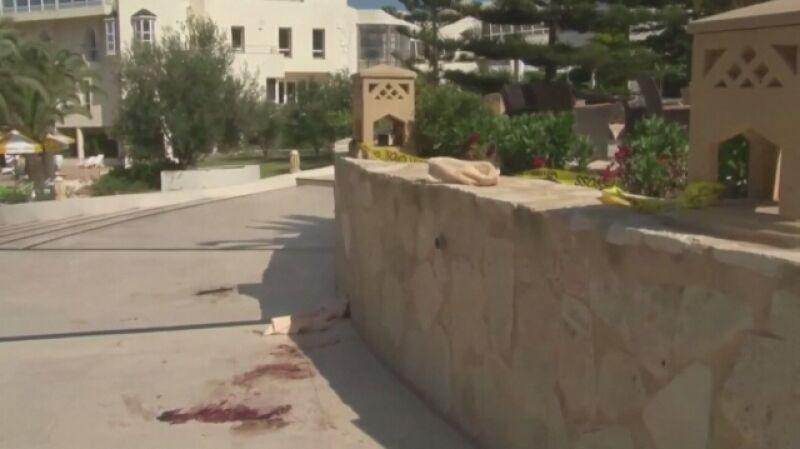 Zamachowiec zaatakował na plaży i w hotelach w Susie