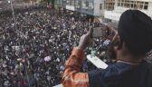 Dziesiątki tysięcy ludzi na ulicach Hongkongu