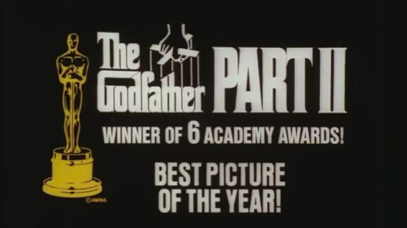 """Druga część """"Ojca chrzestnego"""" zgarnęła sześć Oscarów"""