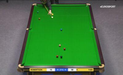 Perfekcyjna gra Bingtao w 4. rundzie UK Championship