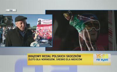 Bronisław Stoch: zapraszam skoczków do Zębu