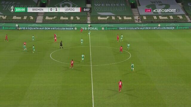 Werder wyrównuje w dogrywce z RB Lipsk w półfinale Pucharu Niemiec